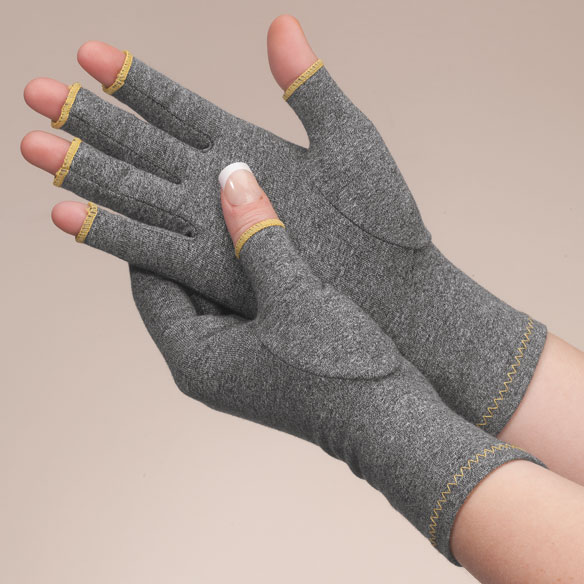 Colored Compression Gloves For Arthritis, 1 Pair - View 3