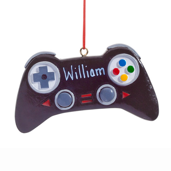 Personalized Video Game Controller Ornament - View 2