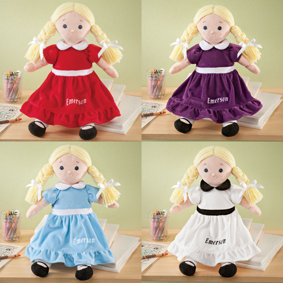 Personalized Birthstone Doll - View 2