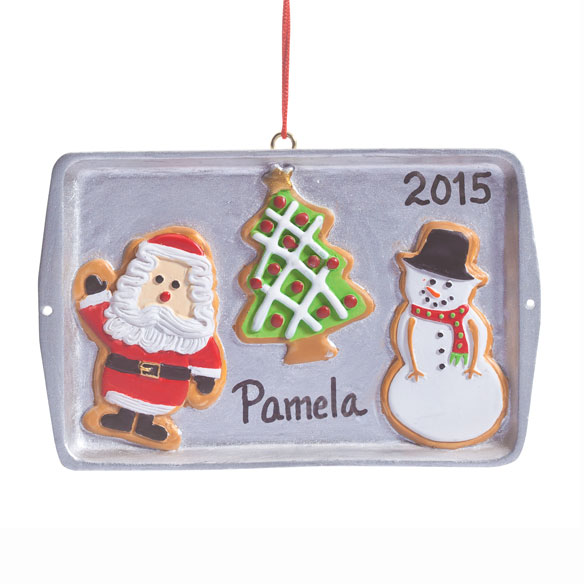 Personalized Cookie Sheet Ornament - View 2