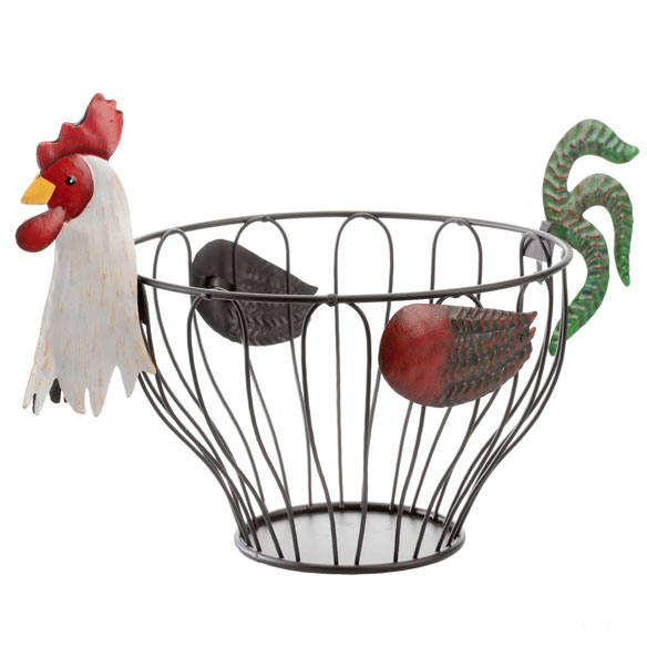 Rooster Fruit Basket - View 2
