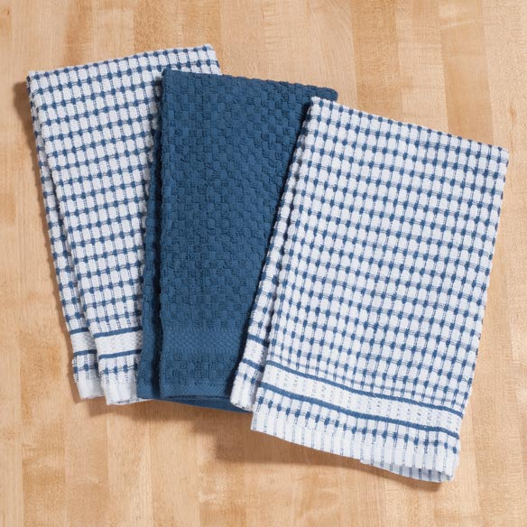 Terry Kitchen Towels - Set of 3 - View 2
