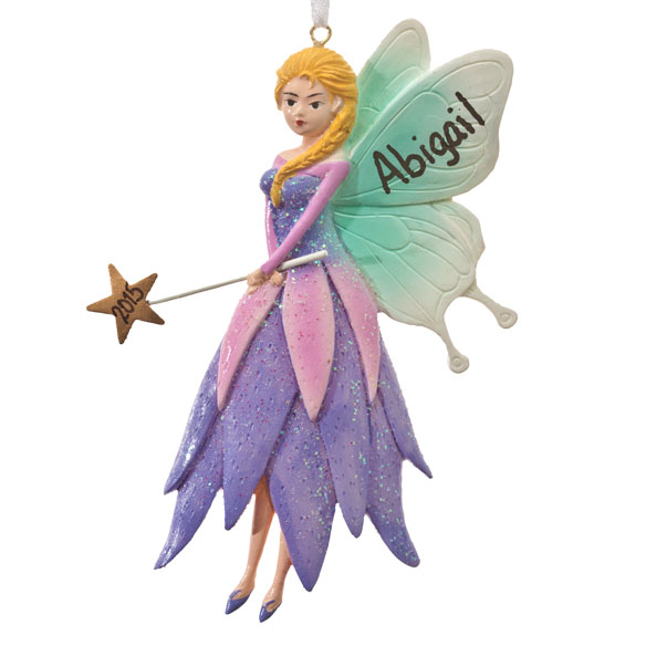Personalized Fairy Ornament - View 2