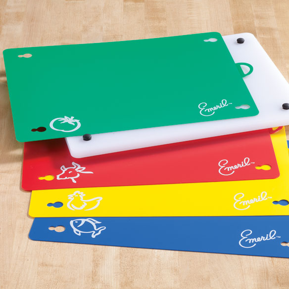 Emeril™ Cutting Board with Color-Coded Mats - View 2