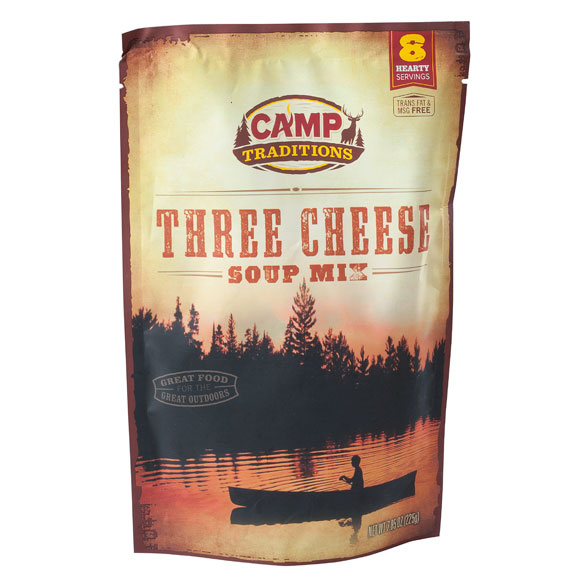 Camp Traditions Three Cheese Soup Mix - View 2