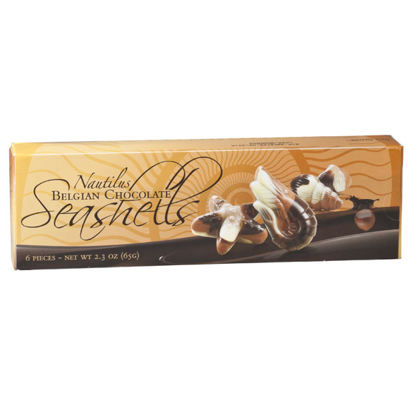 Belgian Chocolate Seashells, 2.3 oz. - View 2