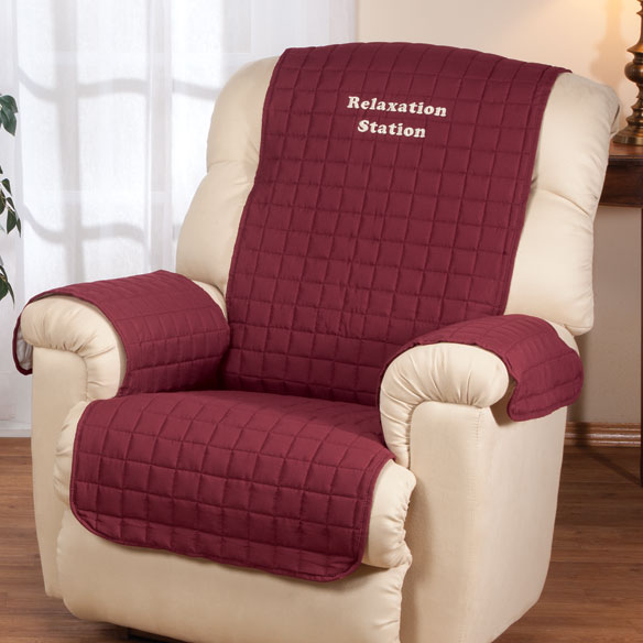 Personalized Warm Color Recliner Cover by OakRidge Comforts™ - View 2