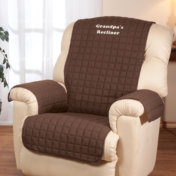 Personalized Warm Color Recliner Cover by OakRidge Comforts™ - View 3