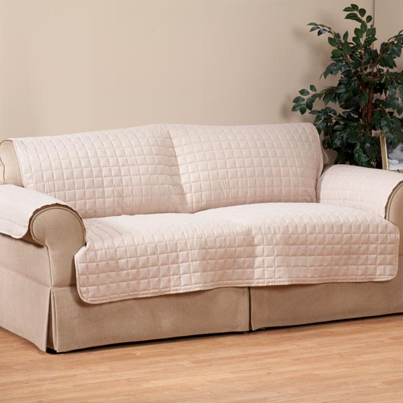 Microfiber Extra-Large Sofa Protector by OakRidge Comforts™ - View 3