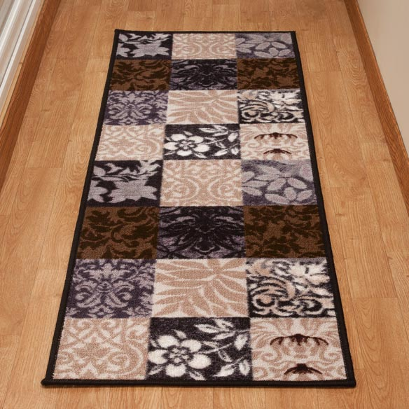 Patch Print Accent Rug - View 2