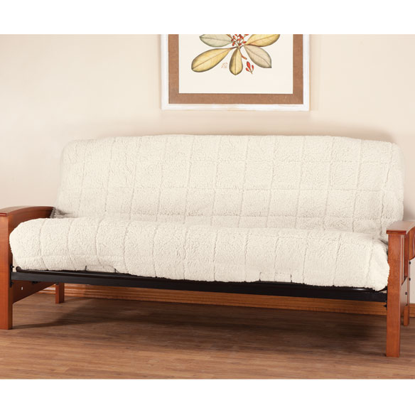 Waterproof Sherpa Futon Cover by OakRidge Comforts™ - View 2