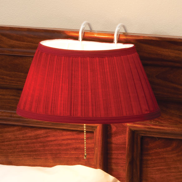 Over-the-Bed Light with Colored Shade - View 2