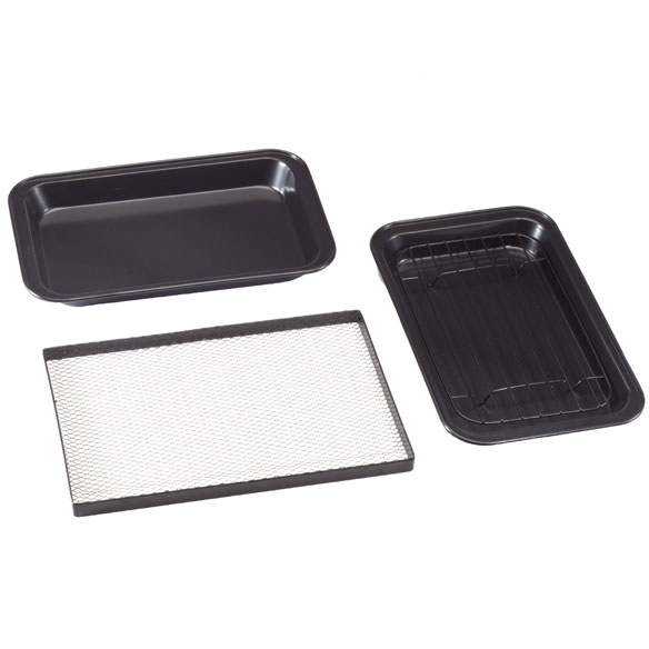 Toaster Oven Pans by Home-Style Kitchen ™ - Set of 3 - View 3