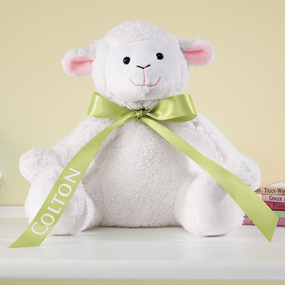 Personalized Easter Lamb - View 2