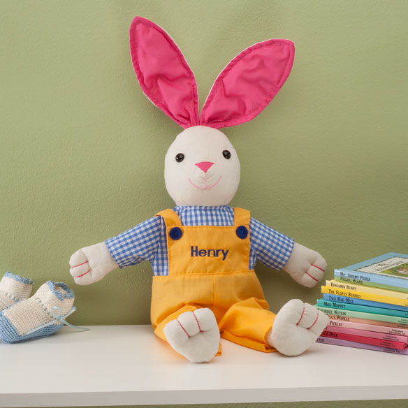 Personalized Springtime Bunny - View 2