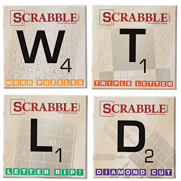 Scrabble Puzzle Books, Set of 10 - View 2