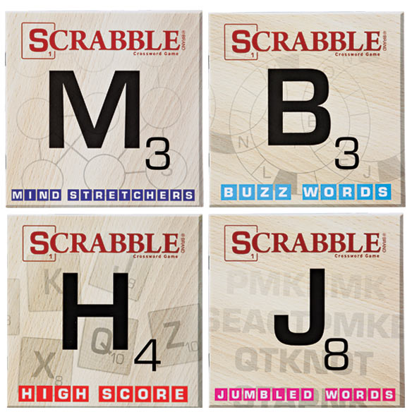 Scrabble Puzzle Books, Set of 10 - View 3