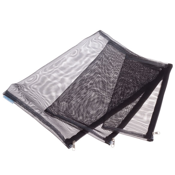 Mesh Travel Bags, Set of 3 - View 3