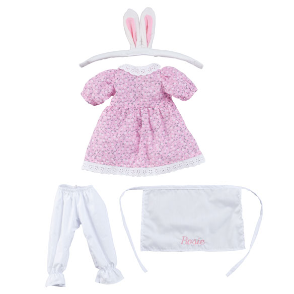 Personalized Big Sister Easter Dress - View 2