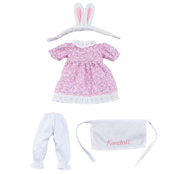 Personalized Little Sister Easter Dress - View 2