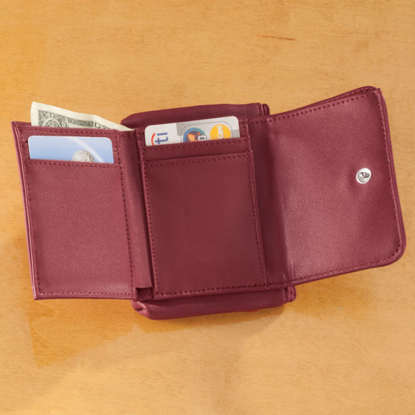Personalized RFID Pebble Wallet - View 5