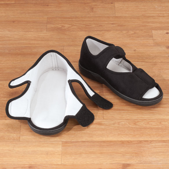 Adjustable Memory Foam Slippers - View 2