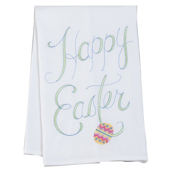 Happy Easter Hand Towel - View 2