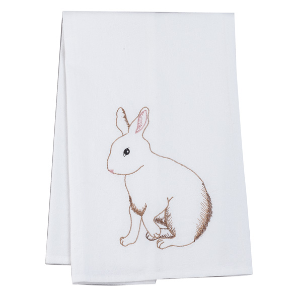 Brown Bunny Hand Towel - View 2