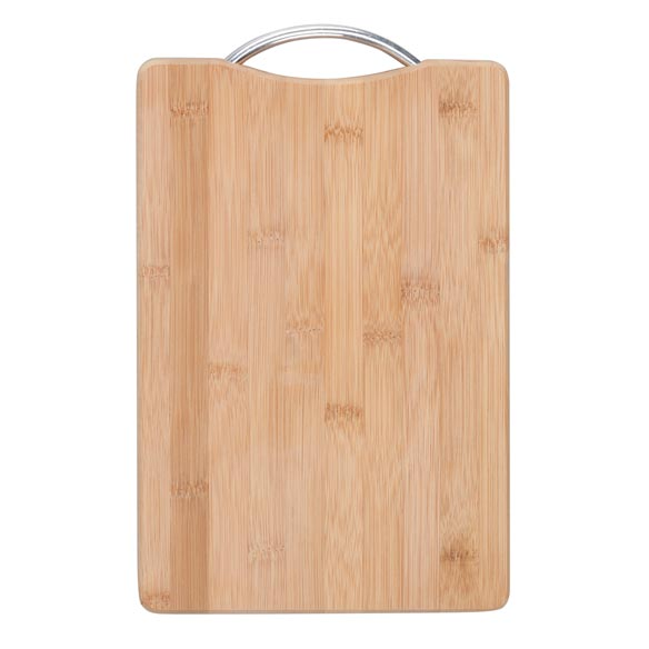 Bamboo Cutting Board with Handle, 8x12 - View 2