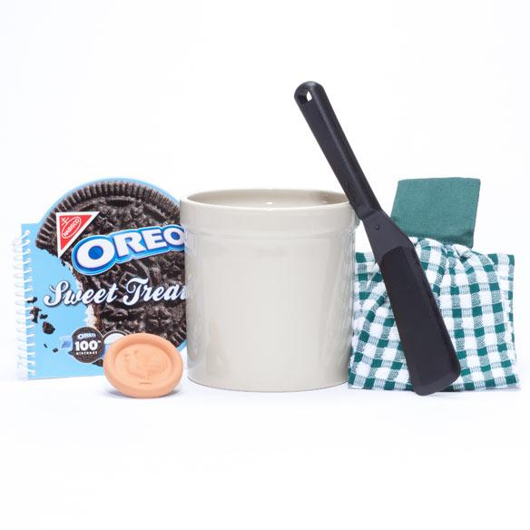 Personalized Kitchen Gift Basket Personalized Crock Miles Kimball