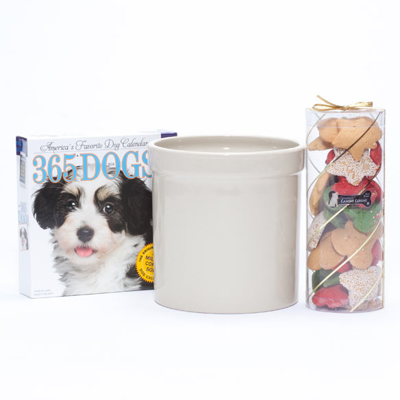 Personalized Dog Lover's Gift Basket - View 2