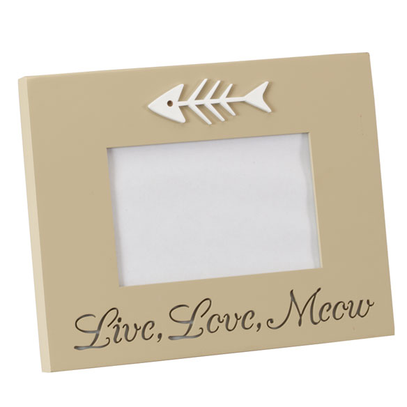 LED Live, Love, Meow Picture Frame - View 2