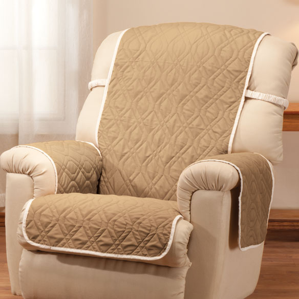 Deluxe Reversible Waterproof Recliner Chair Cover - View 5