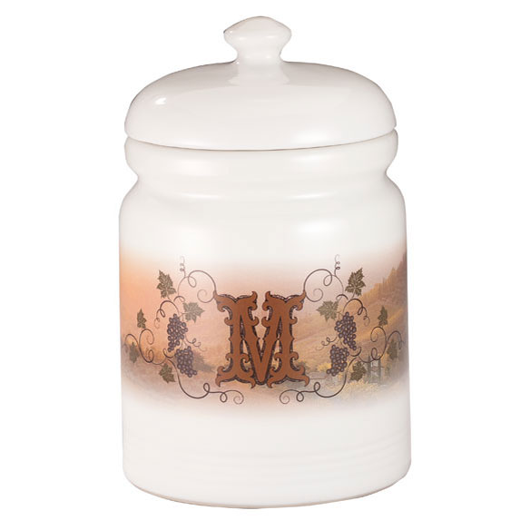 Personalized Tuscan Sunset Cookie Jar - View 2