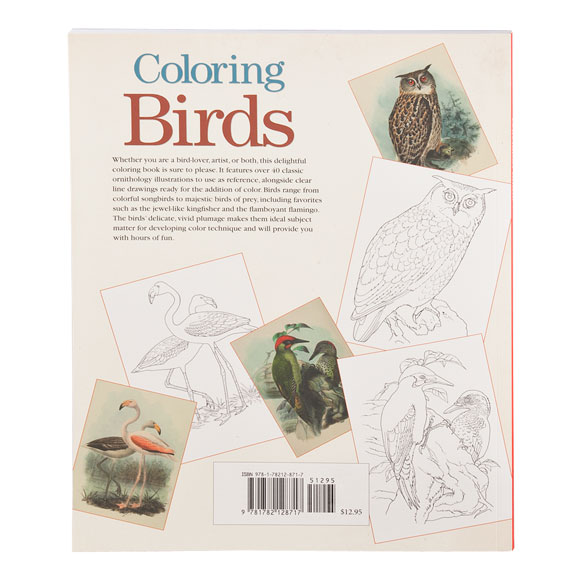 Coloring Birds Coloring Book - View 2