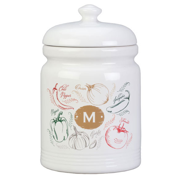 Personalized Farmers Market Salsa Cookie jar - View 2