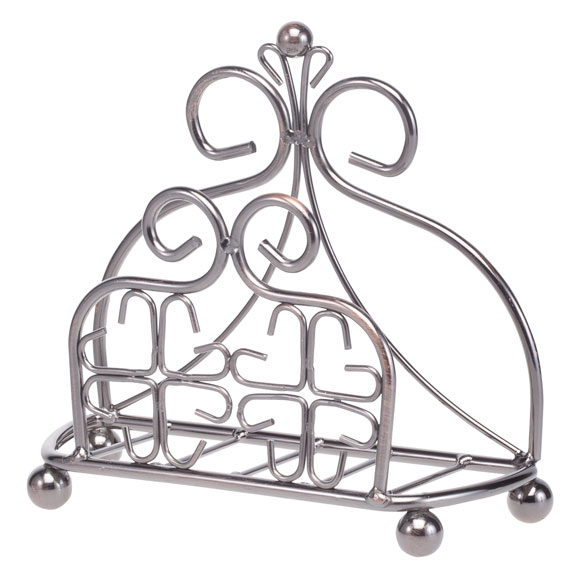Venetian Metal Napkin Holder - View 2