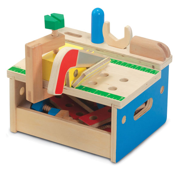 Melissa & Doug® Hammer & Saw Tool Bench - View 2