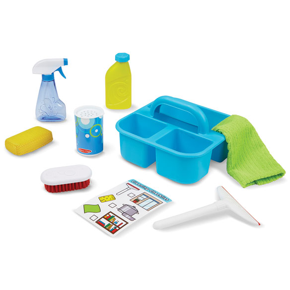 Melissa & Doug® Let's Play House! Spray, Squirt & Squeegee Play Set - View 2