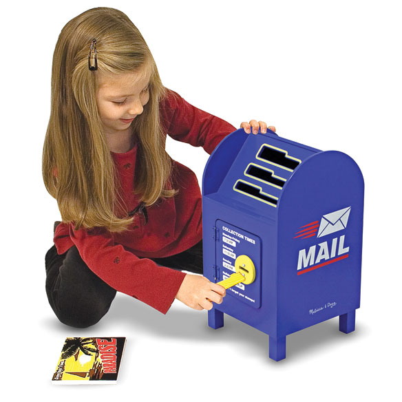 Melissa & Doug® Stamp and Sort Mailbox - View 2