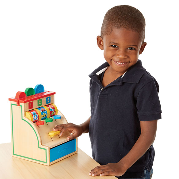 Melissa & Doug® Sort & Swipe Cash Register - View 2