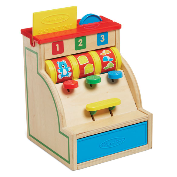 Melissa & Doug® Sort & Swipe Cash Register - View 3
