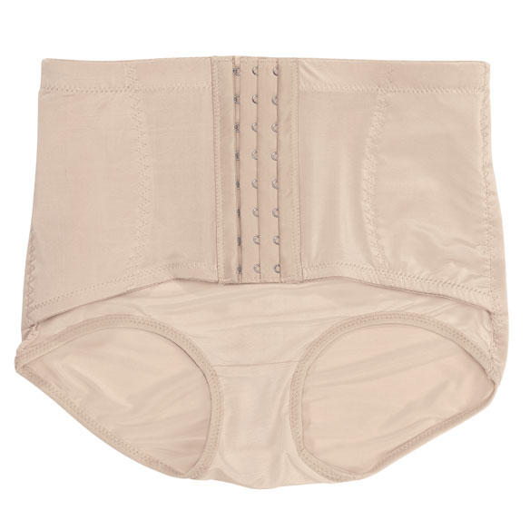 Ladies Brief with Firm Control Belt - View 2