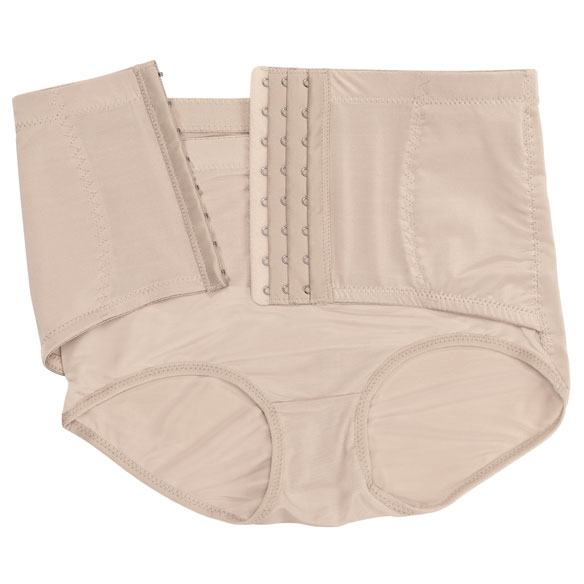 Ladies Brief with Firm Control Belt - View 3