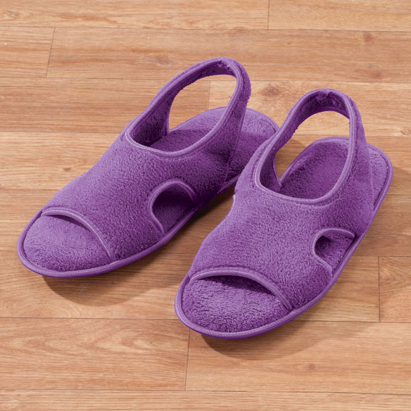 Terry Memory Foam Slippers - View 2