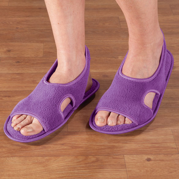 Terry Memory Foam Slippers - View 3