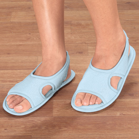 Terry Memory Foam Slippers - View 5
