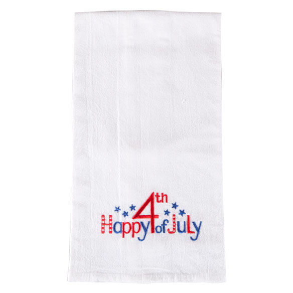 Patriotic Hand Towel - View 2