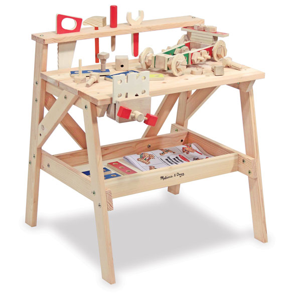 Melissa & Doug® Wooden Project Workbench - View 3