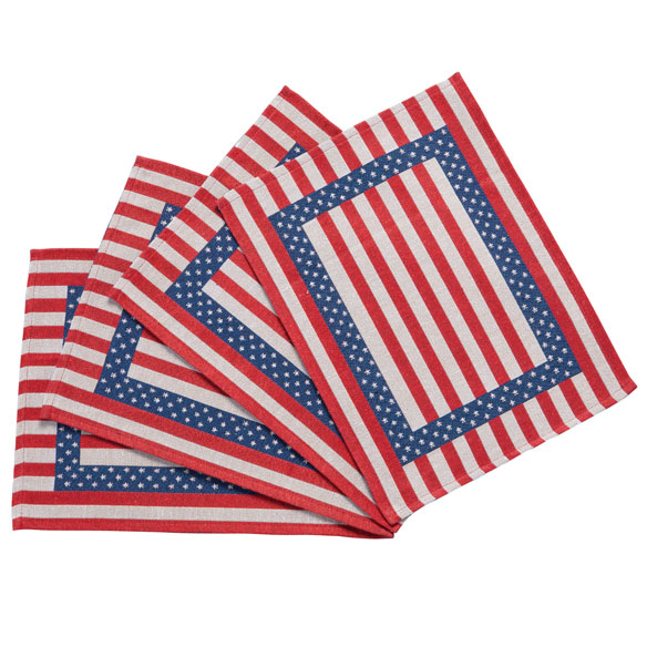Patriotic Placemats - Set of 4 - View 2